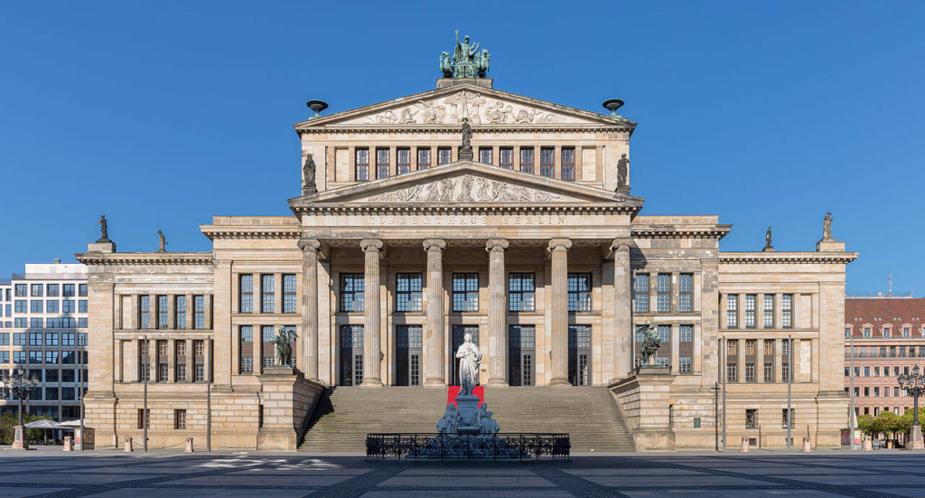 1818-1821 ベルリン王立劇場 建築家 カール・フリードリッヒ・シンケル
