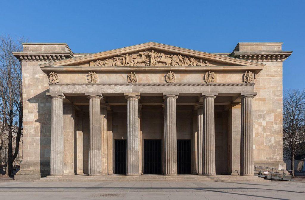 1816 ノイエ・ヴァッヘ 建築家 カール・フリードリッヒ・シンケル