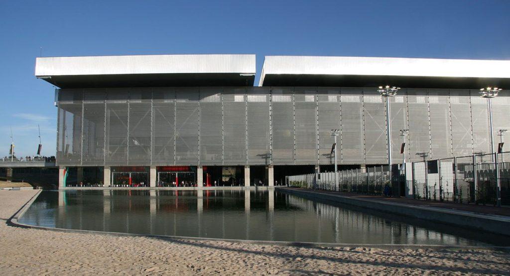 2009 オリンピック・テニス・センター/ラ・カハ・マヒカ(マドリード) 建築家 ドミニク・ペロー