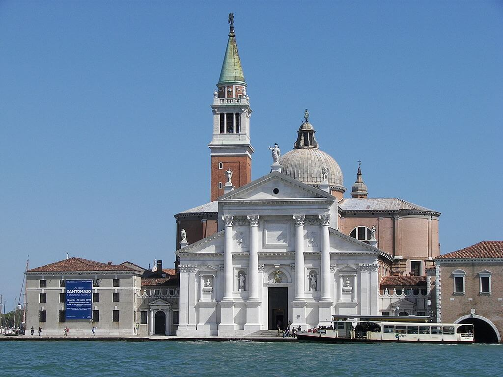1564起工 サン・ジョルジョ・マッジョーレ聖堂 建築家 アンドレア・パラディオ