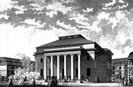 1784 ブザンソンの劇場 建築家 クロード・ニコラ・ルドゥー