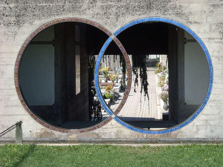 1969-1978 ブリオン家墓地 建築家 カルロ・スカルパ