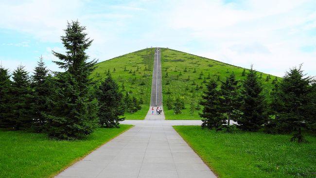 1998-2005 モエレ沼公園 芸術家・デザイナー イサム・ノグチ