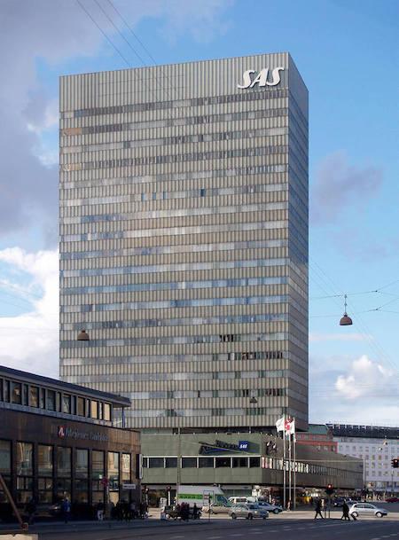 SASロイヤルホテル 建築家 アルネ・ヤコブセン