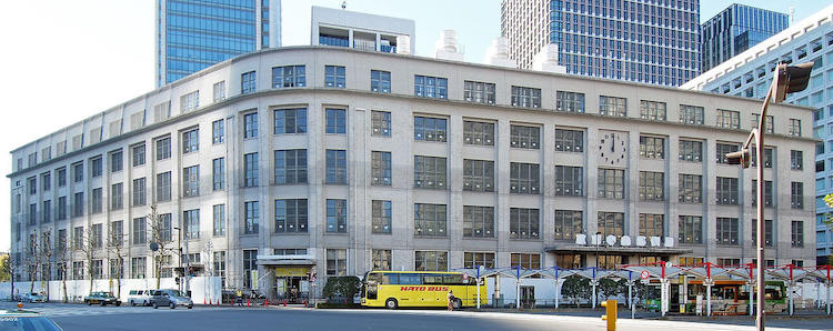 1933 東京中央郵便局旧局舎 建築家 吉田鉄郎