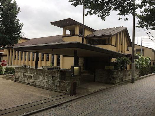 1922 自由学園明日館 建築家 遠藤新