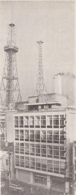 1957 さっぽろテレビ塔 建築家 内藤多仲