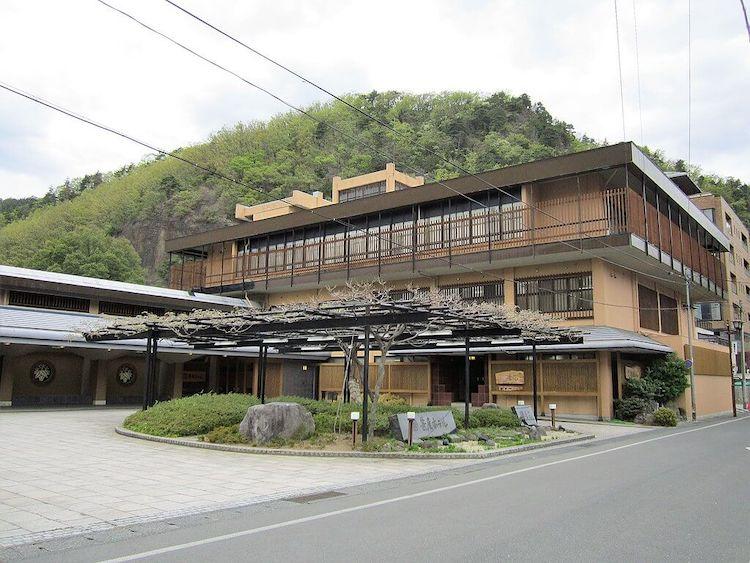 1932 笹屋ホテル 建築家 遠藤新