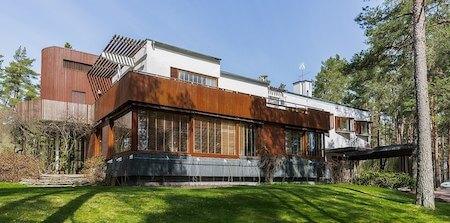 フィンランド観光 1選:マイレア邸(アルヴァ・アアルト設計)