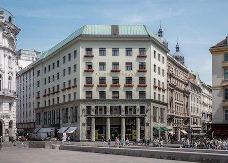 オーストリア観光 2選:ロースハウス(アドルフ・ロース設計)