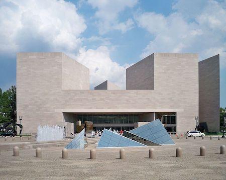 建築家 I.M.ペイ 1978 ナショナル・ギャラリー東館