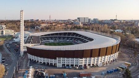 フィンランド観光 3選:オリンピックスタジアム・ヘルシンキ(ウルヨ・リンデグレン&トイヴォ・ヤンッティ設計)