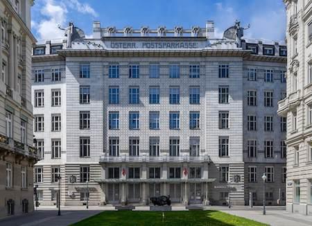 オーストリア観光 1選:ウィーン郵便貯金局(オットー・ワーグナー設計)